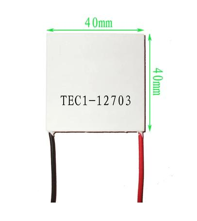 TEC1-12703 30x30mm Thermoelectric Cooler 3A Peltier Module - Robu in |  Indian Online Store | RC Hobby | Robotics