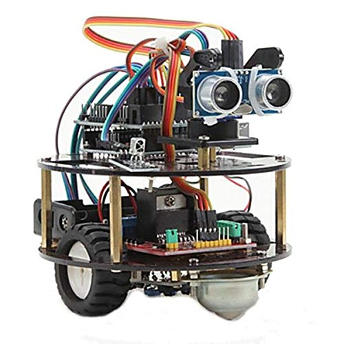 REES52 DIY Intelligent Bluetooth Turtle Car Kit For Arduino Smart Car Learning