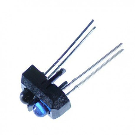 TCRT5000 Reflective IR sensor photoelectric switch (Robu.in)