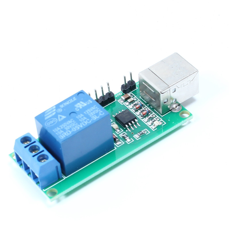 USB Control 1 Channel Module 5V Relay Module - Robu in | Indian Online  Store | RC Hobby | Robotics