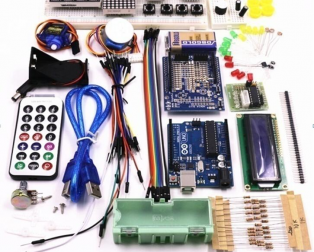 Arduino Starter Kit with UNO R3 for Beginners