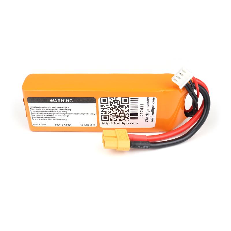 Orange 2200mAh 3S 40C/80C Lithium polymer battery Pack (LiPo)