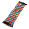 Buy Male to Female Jumper Wires 40 Pin 30cm