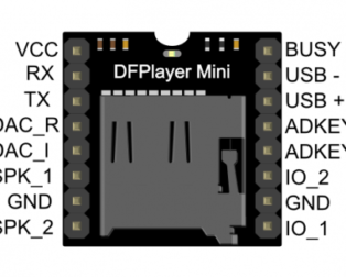 MP3-TF-16P MP3 Disk TF Card Module Serial Port
