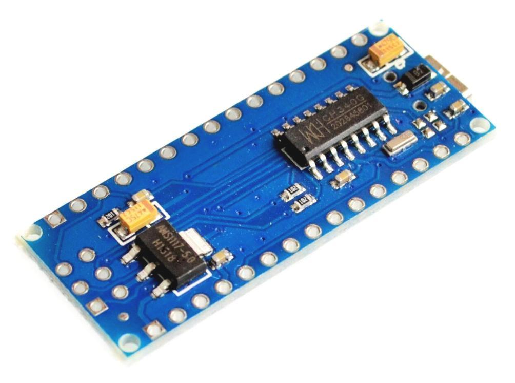 Arduino Nano Board R3 with CH340 chip W/O USB Cable (Unsoldered)