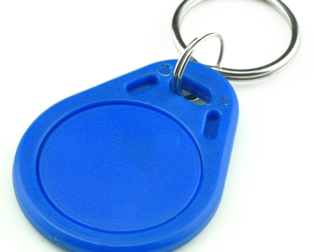 13.56MHz RFID IC Key Tag-2pcs.