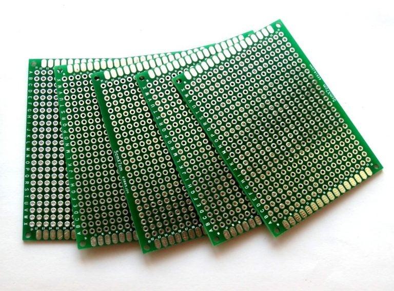 5x7 cm Universal PCB Prototype Board Double-Sided-2pcs.
