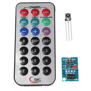 HX1838 VS1838 NEC Infrared IR Wireless Remote Control Sensor Module