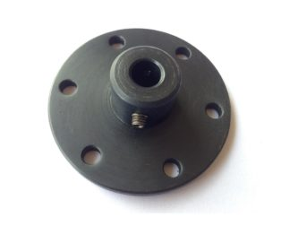 EasyMech NEMA23 motor coupling hub 6.35mm internal dia (ID) (small) (Robu.in)