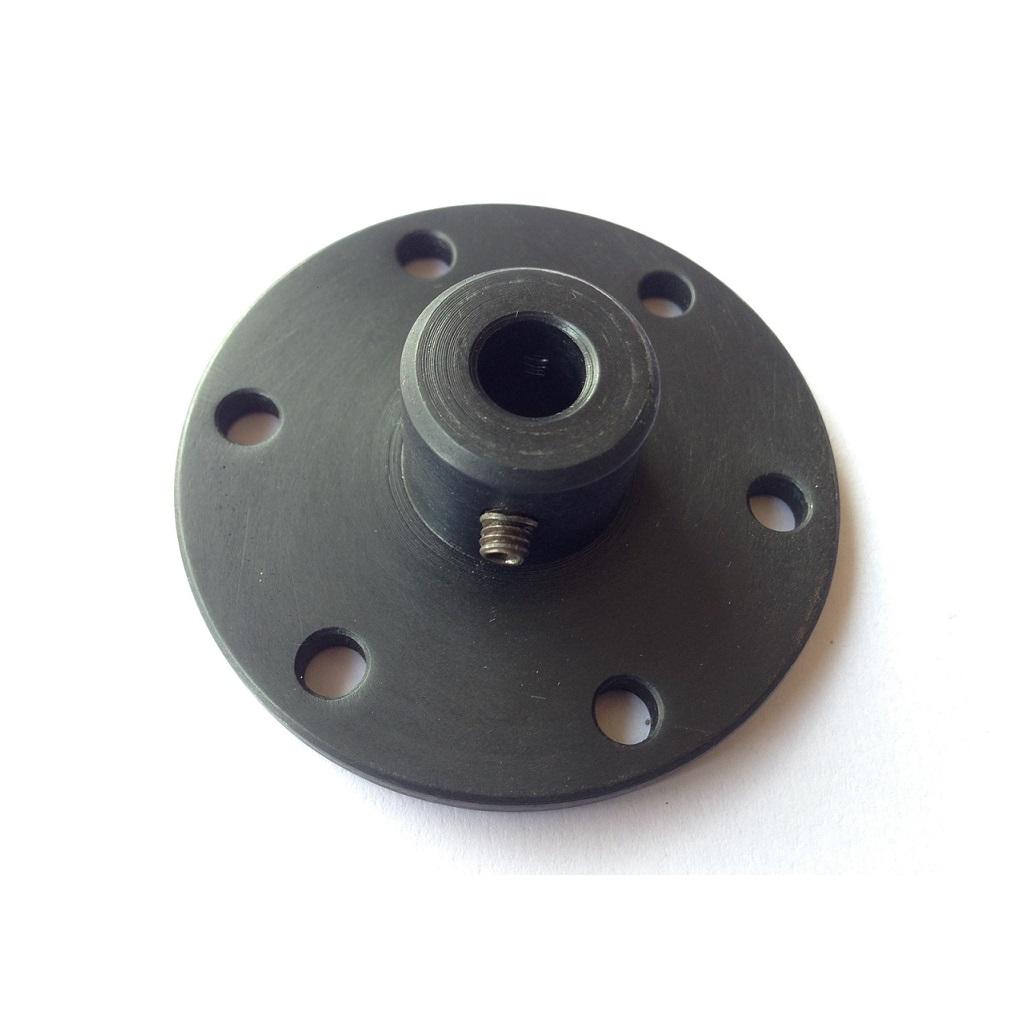 EasyMech NEMA23 motor coupling hub 6.35mm internal dia (ID) (small) (Robu.in)