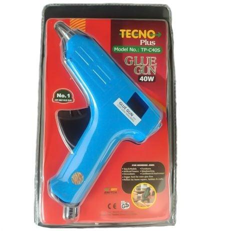 Standard Temperature 40 Watt Hot Melt Glue Gun with On/Off Switch