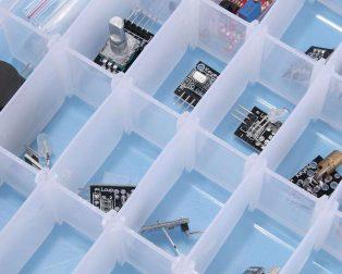 Arduino 37pcs Sensor Kit set -ROBU.IN