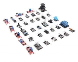 Arduino 37pcs Sensor Kit set - ROBU.IN