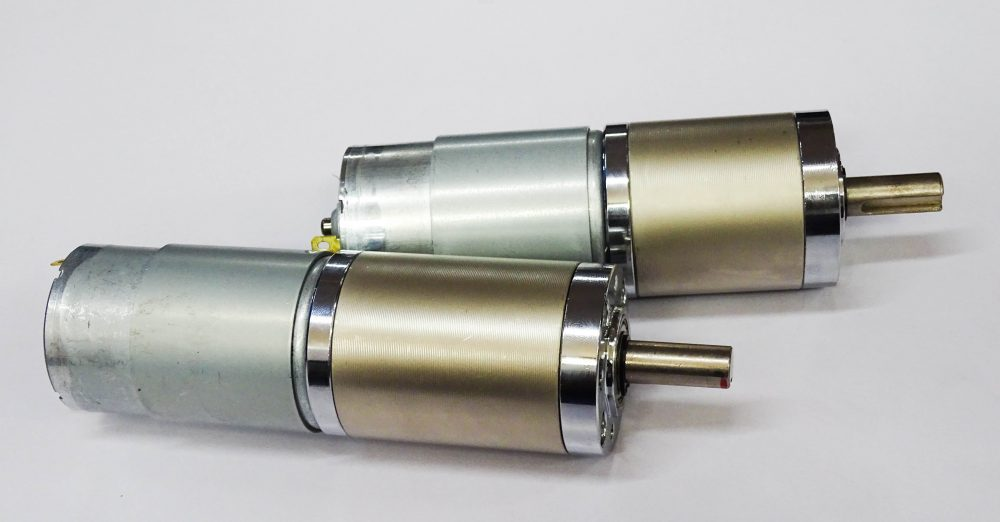 Tauren Planetary Gear DC motor – 10 RPM / 12V (Robu.in)