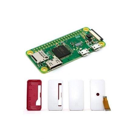 Raspberry Pi Zero-W V1.1 Development Board With Official Case