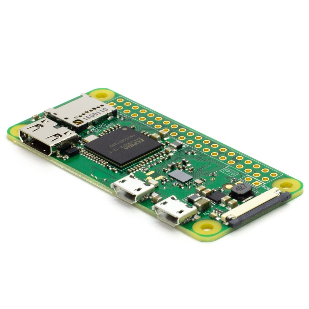 Raspberry Pi Zero W v1.3 Development Board With Case (Robu.in)