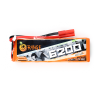 ORANGE 6200mAh 3S 40C (11.1 v) Lithium Polymer Battery Pack (LiPo)