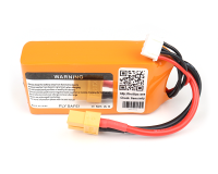 ORANGE 1500mAh 3S 30C (11.1 v) Lithium Polymer Battery Pack (LiPo)