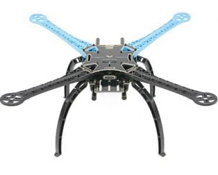 S500 Multi Rotor Air PCB Frame w/ High Landing Gear for FPV Quad-Copter (Robu.in)