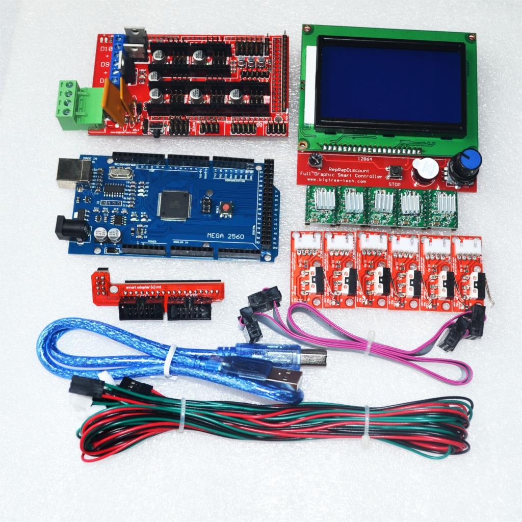 Cnc Wiring Harness Ramps 14 3d Printer Controller 5pcs Drv8825 Driver With Heat Sink Kit Indian Online Store Rc Hobby Robotics
