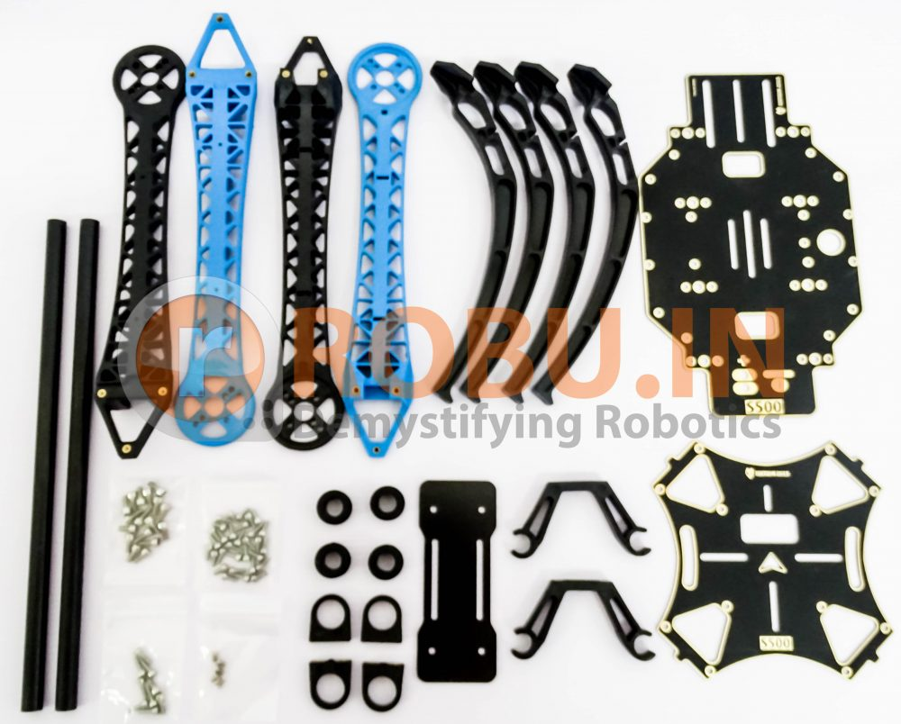 S500 Multi Rotor Air PCB Frame w High Landing Gear for FPV Quad-Copter (Robu.in)