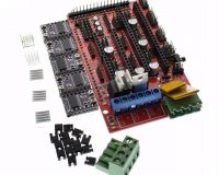 RAMPS 1.4 3D Printer Controller+5Pcs DRV8825 Driver With Heat Sink Kit (Robu.in)