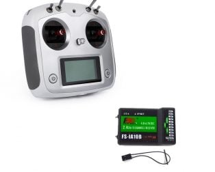 Flysky FS-i6S 2.4GHz 10CH AFHDS 2A RC Transmitter With FS-iA10B 10CH Receiver