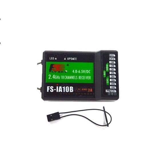 Flysky FS-i6S 2.4GHz 10CH AFHDS 2A RC Transmitter With FS-iA10B 10CH Receiver