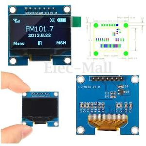 1 3 Inch 128x64 OLED Display Screen Module with SPI Serial Interface - V2 -  Robu in | Indian Online Store | RC Hobby | Robotics