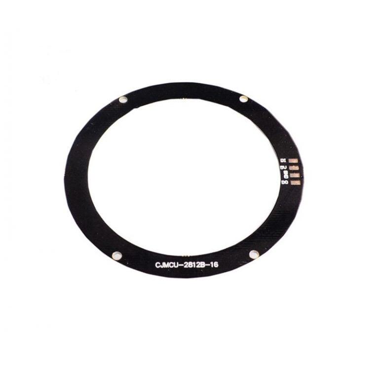 16Bit WS2812 5050 RGB LED Built-in Full Color Driving Lights Circular Development Board
