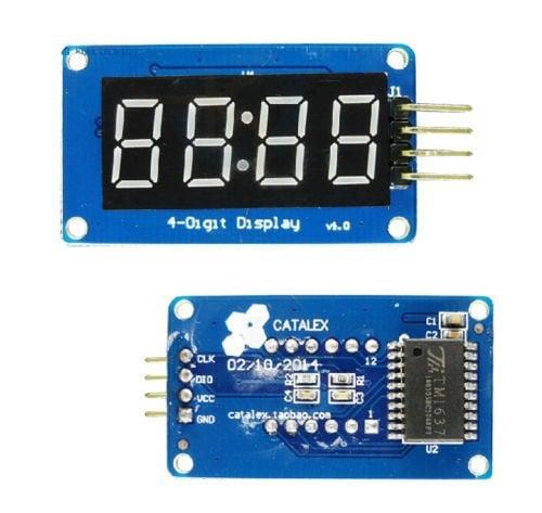 4 Bits Digital Tube LED Display Module With Clock Display TM1637 for Arduino