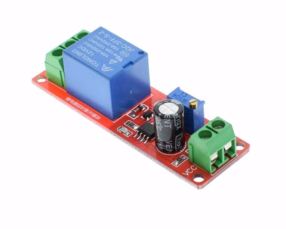 NE555 Delay Monostable Switch Module Time Delay Switch Delay On Vehicle  Electrical Delay 12V