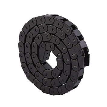 8 x 8mm 1m Cable Drag Chain Wire Carrier (Robu.in)