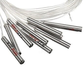 PT100-S Waterproof 1m 30mm Probe PTFE FTARP05 Stainless Steel Pole Probe Temperature Sensor