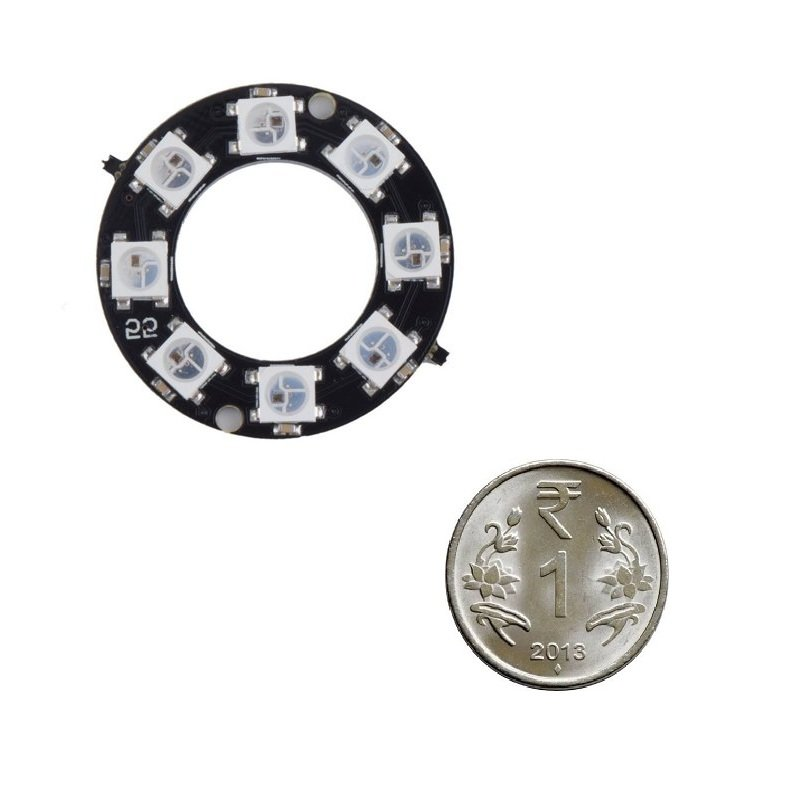 WS2812 RGB 5050 16 LED Ring Breakout Board