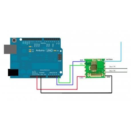 RDA5807M FM Stereo Radio Module RRD-102 V2.0 Wireless Pro for Arduino Tuner