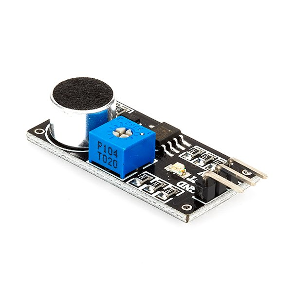 LM393 Sound Detection Sensor Module - Black (Robu.in)