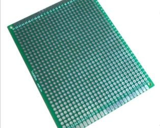 7 X 9 CM Universal PCB Prototype Board Double-sided (Robu.in)