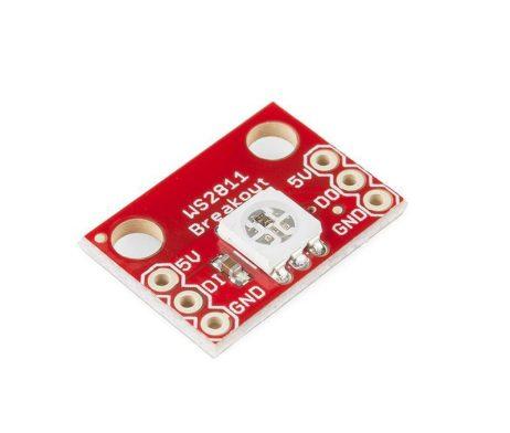 CJMCU-123 WS2812 RGB LED Breakout Module - ROBU.IN