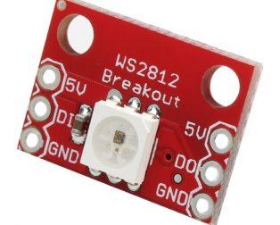 CJMCU-123 WS2812 RGB LED Breakout Module (Robu.in)