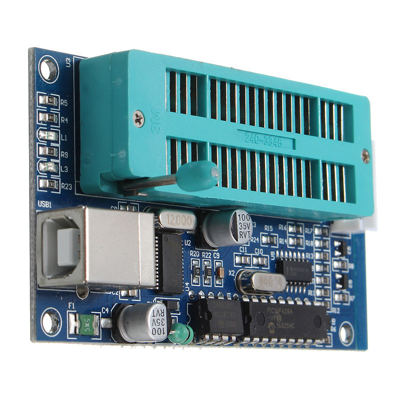 PIC K150 USB Automatic Develop Microcontroller Programmer With ICSP Cable -  Robu in | Indian Online Store | RC Hobby | Robotics