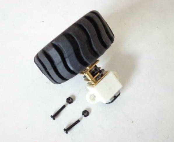 Mounting Bracket for N20 Micro Gear motors-2pcs