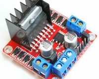L298N 2A BASED MOTOR DRIVER MODULE - Good Quality