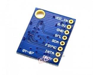 GY-87 MPU-9250 9-axis Attitude Gyro Magnetometer Accelerator Sensor Module (Robu.in)