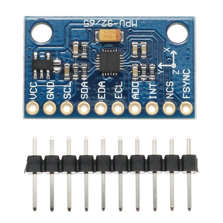 GY-87 MPU-9250 3-axis 9-DOF Attitude Gyro Magnetometer Accelerator Sensor Module