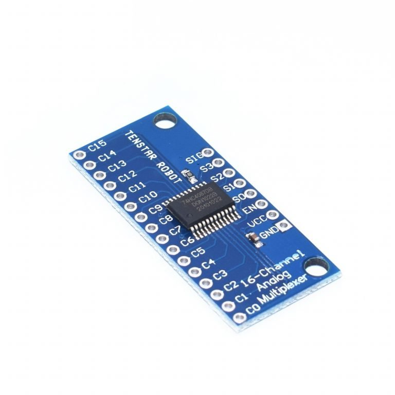 CD74HC4067 High Speed ​​CMOS 16-Channel Analog/Digital Multiplexer Breakout Module (Robu.in)