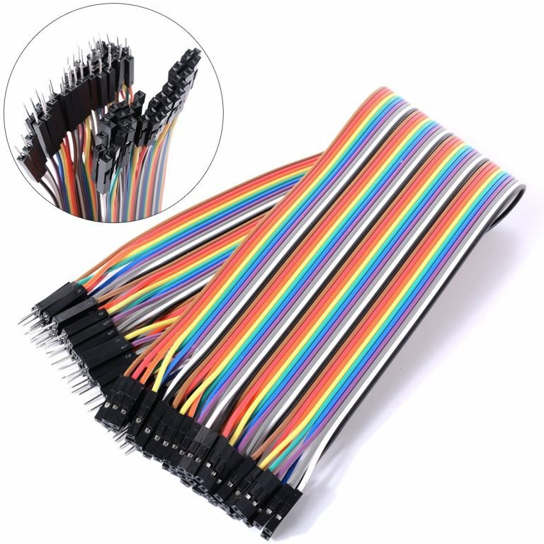 Buy Male To Female Jumper Wires 40 Pcs 10cm