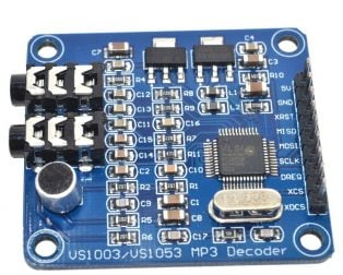 VS1003 VS1003B MP3 Module Decoding Containing Microphones STM32 (Robu.in)
