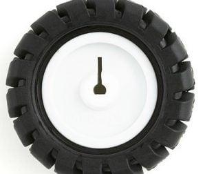 3PI miniQ Car wheel Tyre 42mm N20 DC Gear Motor Wheel