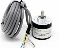 Incremental Photoelectric Rotary Encoder ZSP3806 2500 PPR Solid Shaft Wire ABZ Three phase 5-24V - Robu (1)